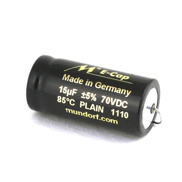 Конденсатор Mundorf E-Cap AC Plain 70 VDC 15 uF