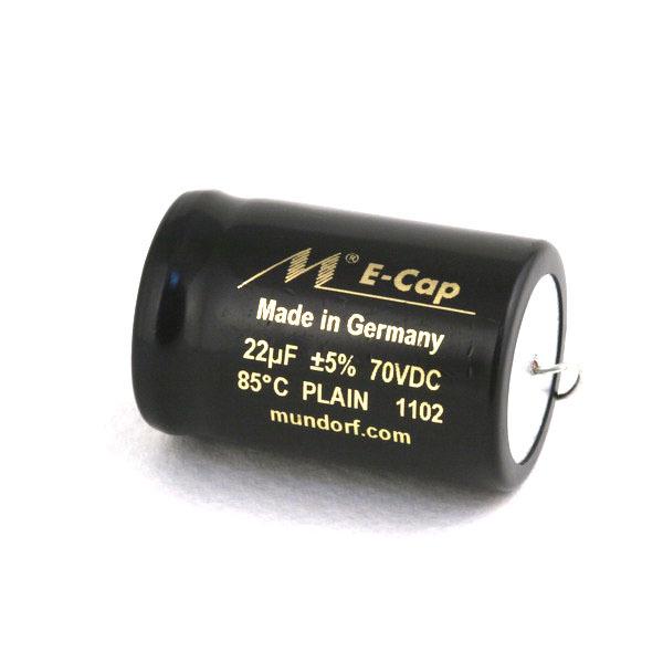 Конденсатор Mundorf E-Cap AC Plain 70 VDC 22 uF