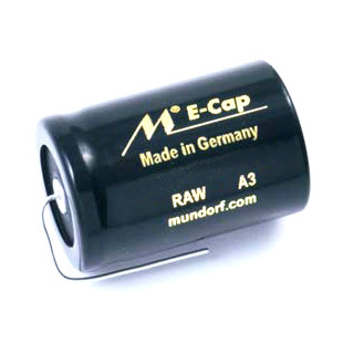 Конденсатор Mundorf E-Cap AC Raw 100 VDC 300 uF