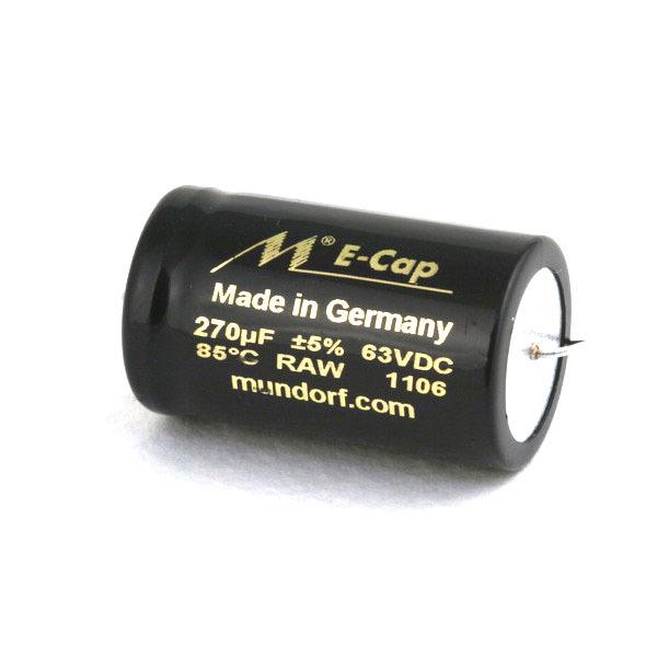Конденсатор Mundorf E-Cap AC Raw 63 VDC 270 uF