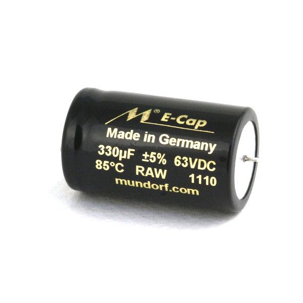 Конденсатор Mundorf E-Cap AC Raw 63 VDC 330 uF