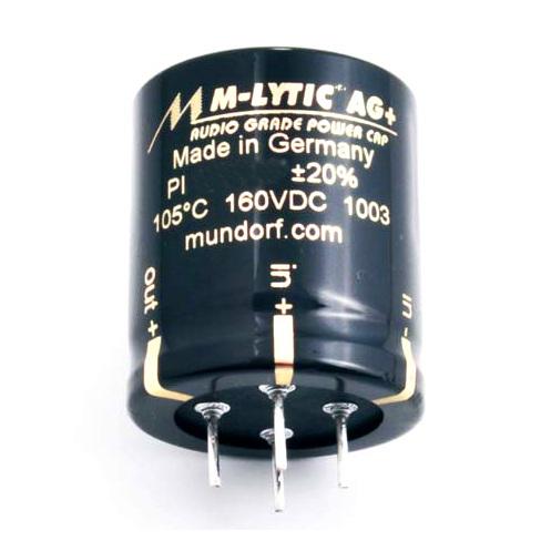 Конденсатор Mundorf M-Lytic AG+ GO 550 VDC 100 uF