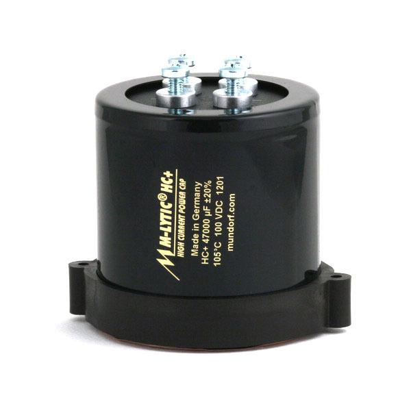 Конденсатор Mundorf M-Lytic HC+ 100 V 47000 uF видеокамера panasonic hc v380