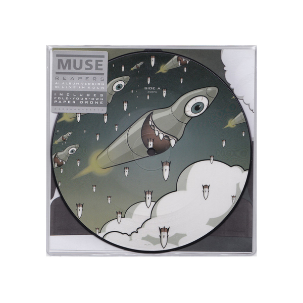 MUSE MUSE - Reapers (7 ) muse muse haarp cd dvd