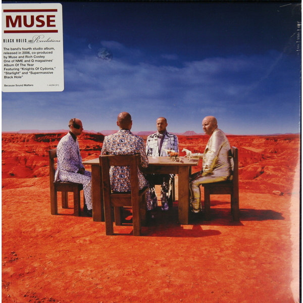 MUSE MUSE - Black Holes Revelations muse muse haarp cd dvd