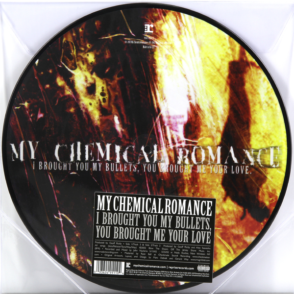 My Chemical Romance - I Brought You Bullets, Me Your Love (picture)