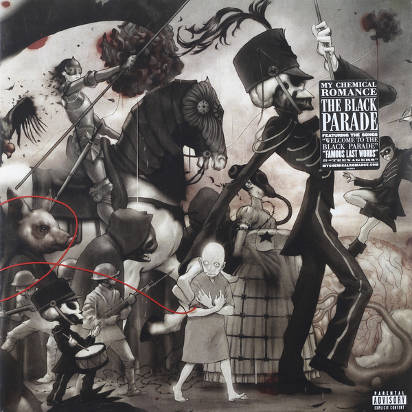 My Chemical Romance My Chemical Romance - The Black Parade (2 LP) насадка karcher 25 1520 01кв пенная ls3