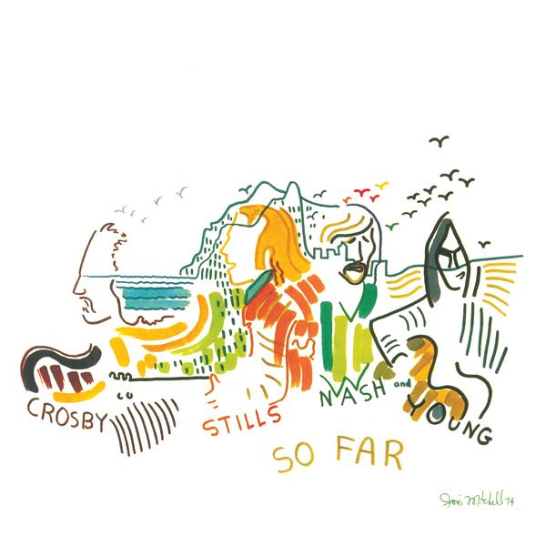 Crosby, Stills Nash Crosby, Stills NashCrosby, Stills, Nash Young - So Far (colour) кроссовки crosby crosby cr004awfqij6