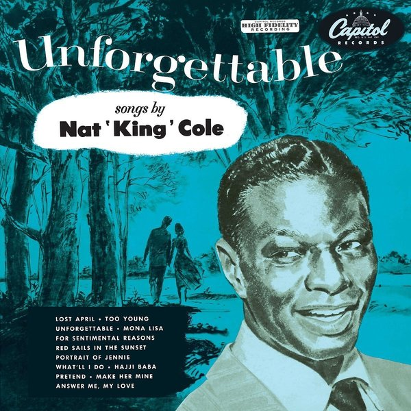 Nat King Cole Nat King Cole - Unforgettable телекастер fender am elite tele thinline mn nat