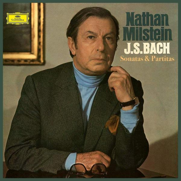 BACH BACHNathan Milstein - : Sonatas Partitas For Solo Violin (3 LP) a derecskei sonata for solo violin no 2