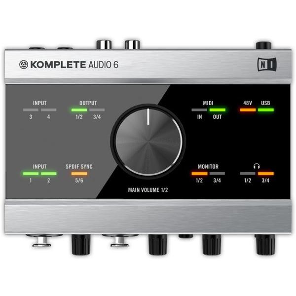 Внешняя студийная звуковая карта Native Instruments Komplete Audio 6 huayuan мультиформатный виртуальных 7 1 канал аудио 3d звуковая карта адаптер с кабелем для pc голосовой чат музыка