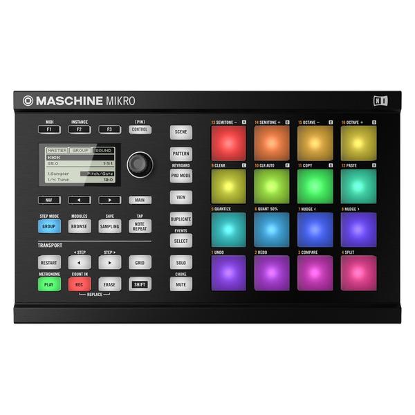 MIDI-контроллер Native Instruments Maschine Mikro Mk2 Black атаманенко игорь григорьевич лицензия на вербовку