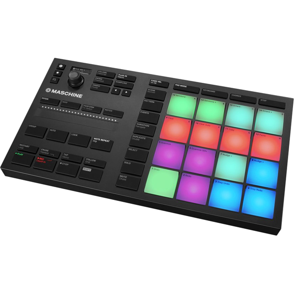MIDI-контроллер Native Instruments Maschine Mikro Mk3 аудиоинтерфейс native instruments komplete audio 6