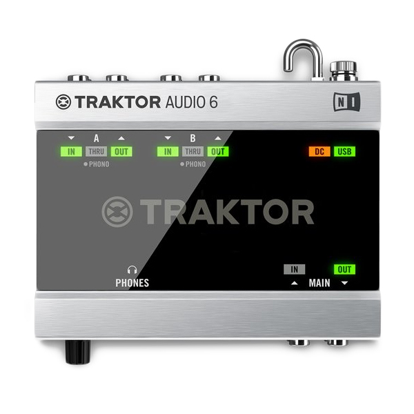 Внешняя студийная звуковая карта Native Instruments Traktor Scratch A6 smal a6 hifi digital amplifier 50wx2 dac digital 110v 220v native dsd512 usb optical coaxial lp player cd analog input