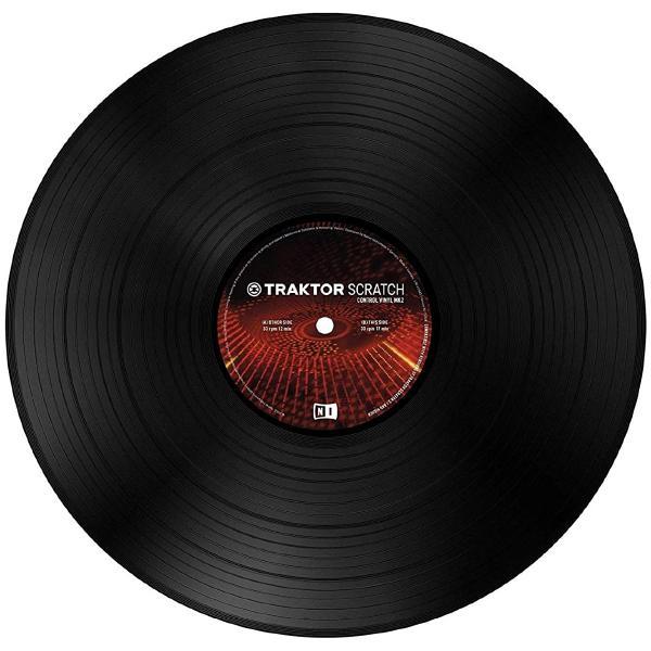 DJ виниловый проигрыватель Native Instruments Таймкод Traktor Scratch Pro Control Vinyl MK2 Black
