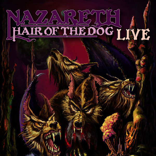Nazareth Nazareth - Hair Of The Dog Live egg shaped stainless steel mechanical twist timer 60 minutes