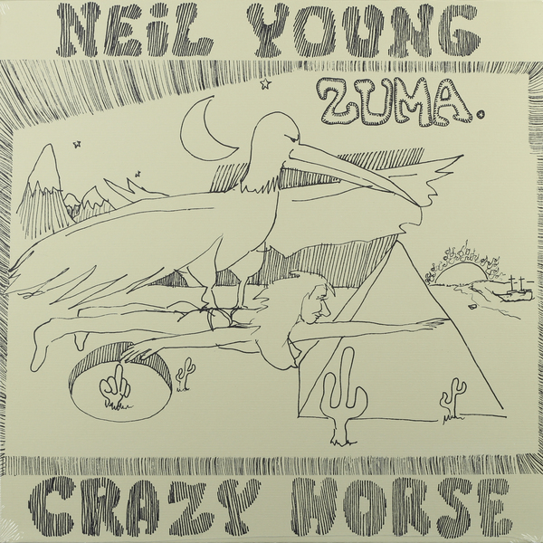 Neil Young Neil Young - Zuma rush rush exit stage left 2 lp