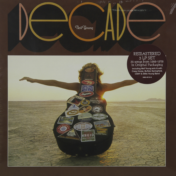 Neil Young Neil Young - Decade (3 Lp, Remastered) neil young neil young harvest moon 2 lp