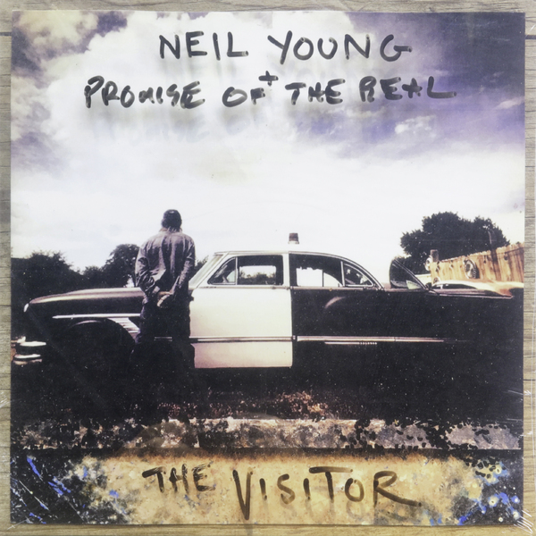 Фото - Neil Young Neil Young Promise Of The Real - The Visitor (2 LP) real madrid zalgiris kaunas