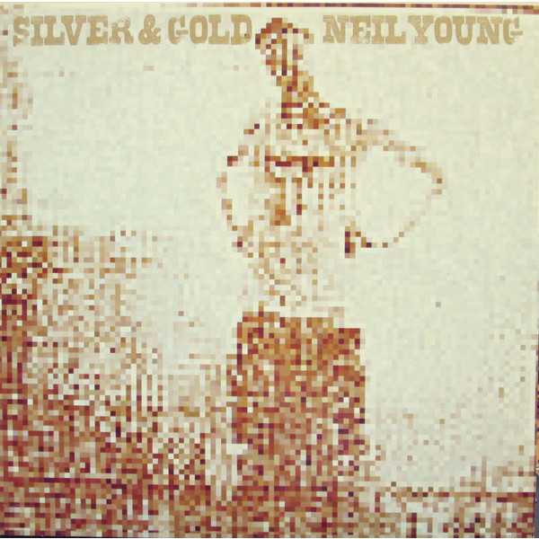 Neil Young Neil Young - Silver Gold crochet fringe sleeve open shoulder top