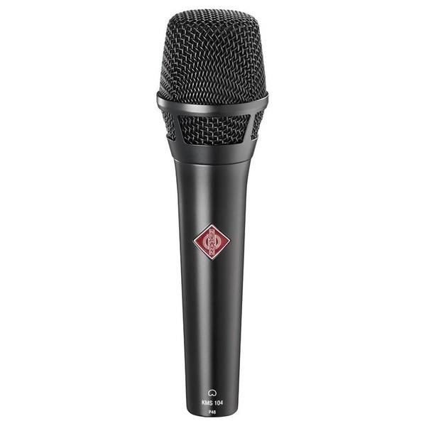 Вокальный микрофон Neumann KMS 104 Black фото