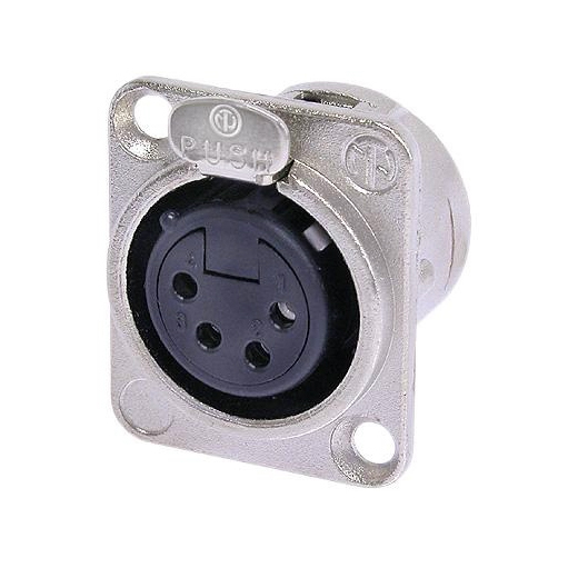 Терминал XLR Neutrik NC4FD-L-1 neutrik nac3mm 1