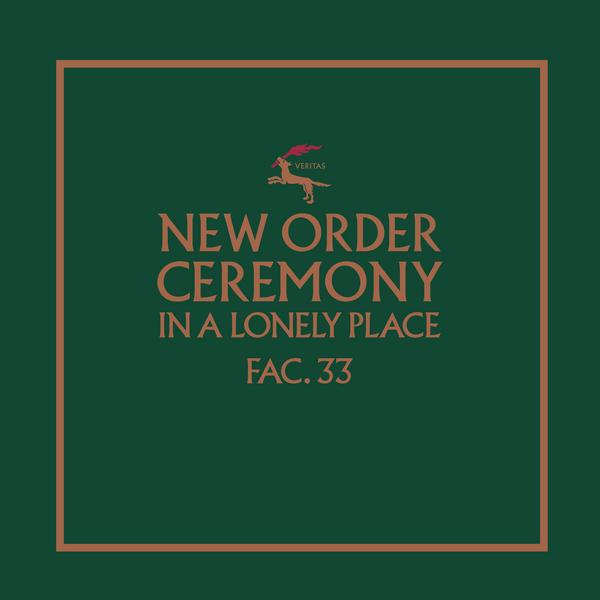 New Order - Ceremony (version 1) (limited, 180 Gr)