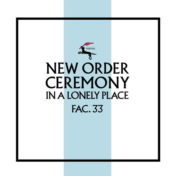 New Order - Ceremony (version 2) (limited, 180 Gr)