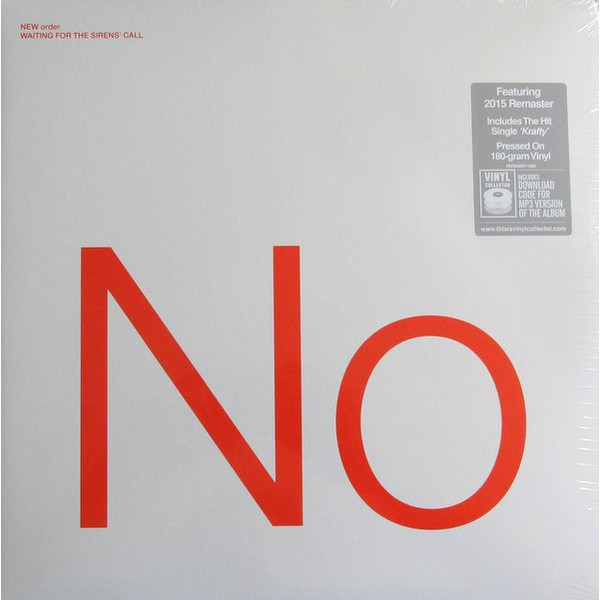 New Order New Order - Waiting For The Sirens Call (2 LP) the shadow queen