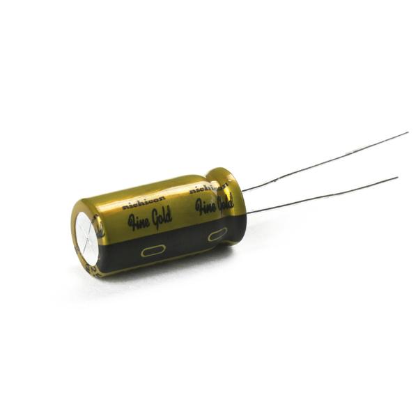 Конденсатор Nichicon FG 25V 330 uF конденсатор nichicon pw 25v 220 uf