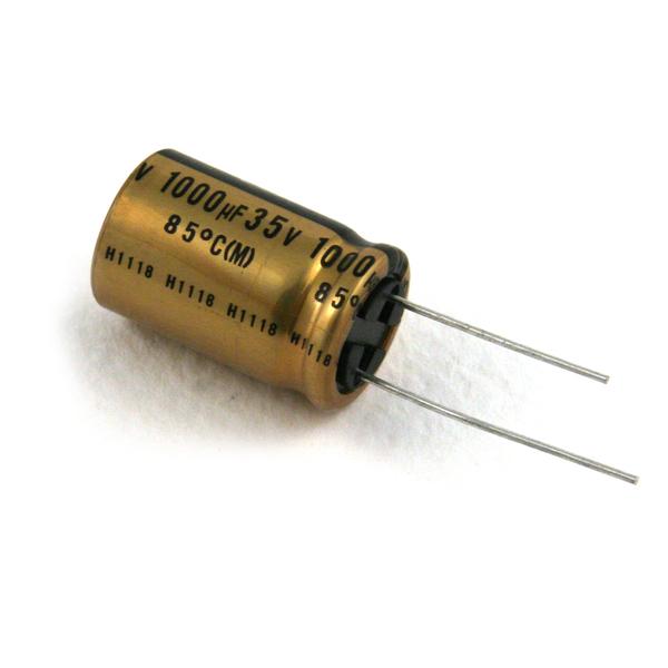 Конденсатор Nichicon FG 35V 1000 uF diy 35v 100uf aluminum electrolytic capacitor black 10pcs