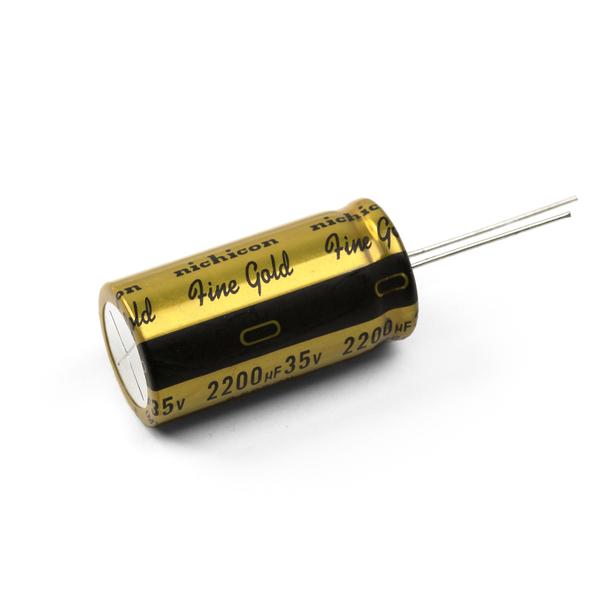 Конденсатор Nichicon FG 35V 2200 uF diy 35v 100uf aluminum electrolytic capacitor black 10pcs