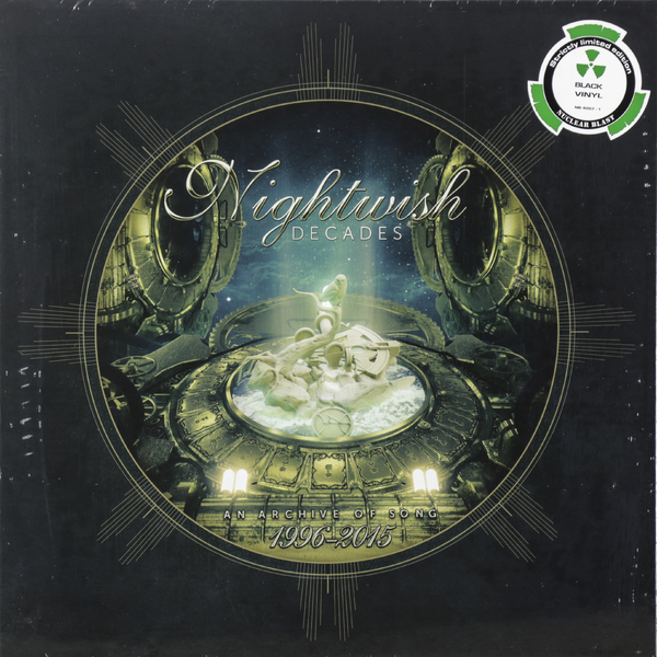 Nightwish Nightwish - Decades (best Of 1996-2015) (3 LP) plus collar knot blouses