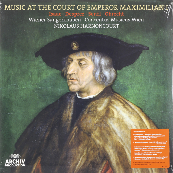 Nikolaus Harnoncourt Nikolaus Harnoncourt - Music At The Court Of Emperor Maximilian I николаус арнонкур nikolaus harnoncourt strauss ii waltzer polkas and marches