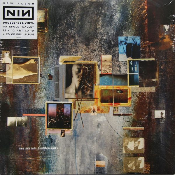 Nine Inch Nails Nine Inch Nails - Hesitation Marks (2 LP) 2018 new women wallets oil wax genuine leather high quality long design day clutch cowhide wallet fashion female card coin purse page 5