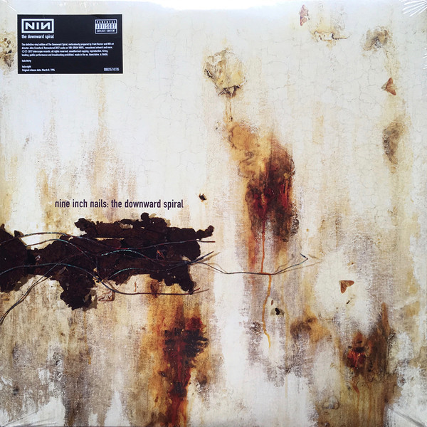 Nine Inch Nails Nine Inch Nails - The Downward Spiral (2 LP) футболка print bar nine inch nails