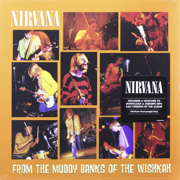 Nirvana Nirvana - From The Muddy Banks Of The Wishkah (2 Lp, 180 Gr) nirvana nirvana hollywood rock festival 1993 2 lp