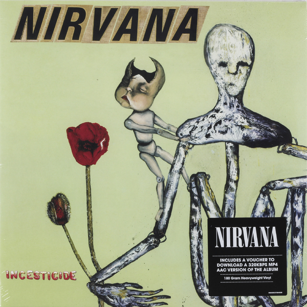 Nirvana Nirvana - Incesticide (2 Lp, 180 Gr) nirvana nirvana hollywood rock festival 1993 2 lp