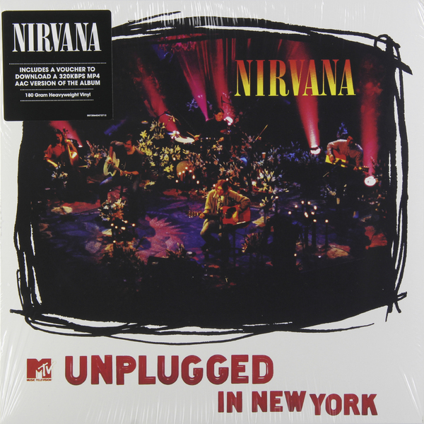 Nirvana Nirvana - Unplugged In New York (180 Gr) музыка cd dvd nirvana in utero