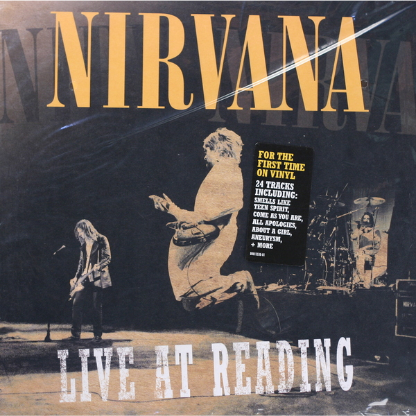 цена на Nirvana Nirvana - Live At Reading (2 Lp 180 Gr)