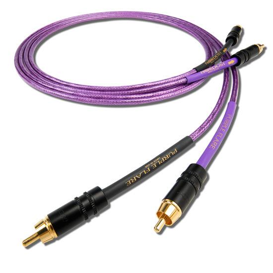 Кабель межблочный аналоговый RCA Nordost Purple Flare 1 m (уценённый товар)