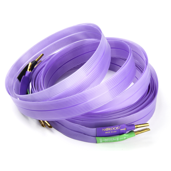 Кабель акустический готовый Nordost Purple Flare 4 m (уценённый товар) 1 4 od 1 8 npt air flow speed control valve connector tube hose pneumatic push in fitting