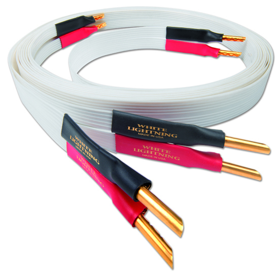 Кабель акустический готовый Nordost White Lightning 6 m 55 hanks white stallion violin bow hair 6 grams each hank in 32 inches