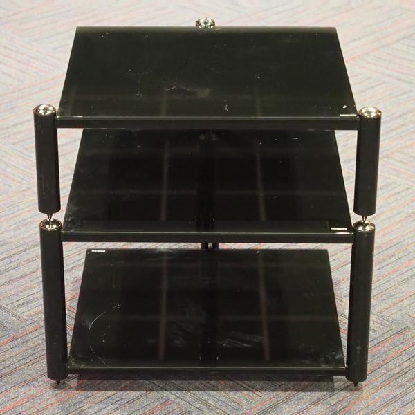 Hi-Fi стойка Norstone AV 1 Black/Black (уценённый товар)  изображение