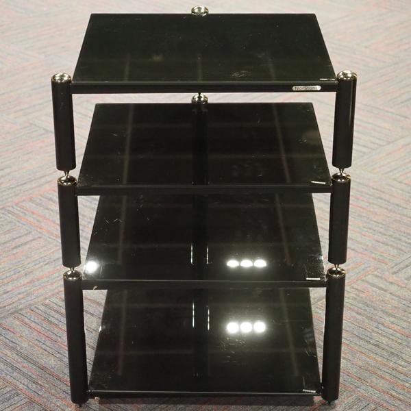 Hi-Fi стойка Norstone AV 2 Black/Black (уценённый товар)  изображение