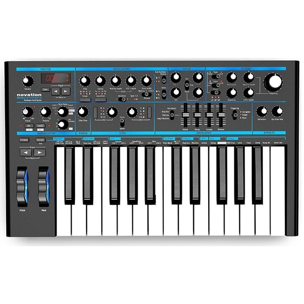 Синтезатор Novation Bass Station II novation launchkey 49 mk2