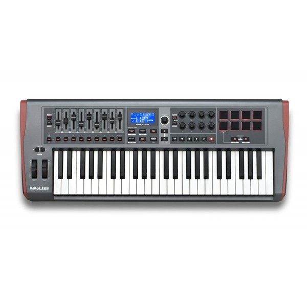 MIDI-клавиатура Novation Impulse 49 novation impulse 49