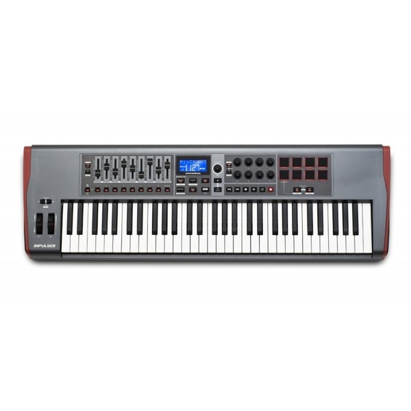 MIDI-клавиатура Novation Impulse 61 novation impulse 49