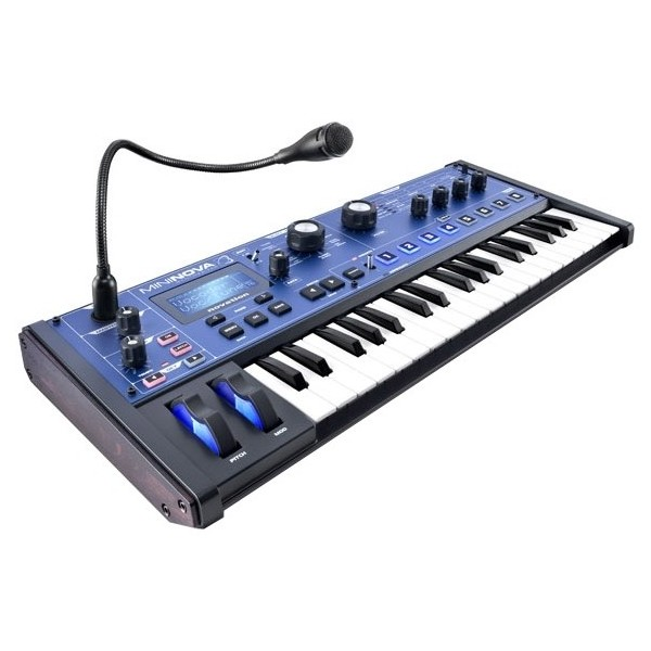 Синтезатор Novation MiniNova синтезатор novation bass station ii