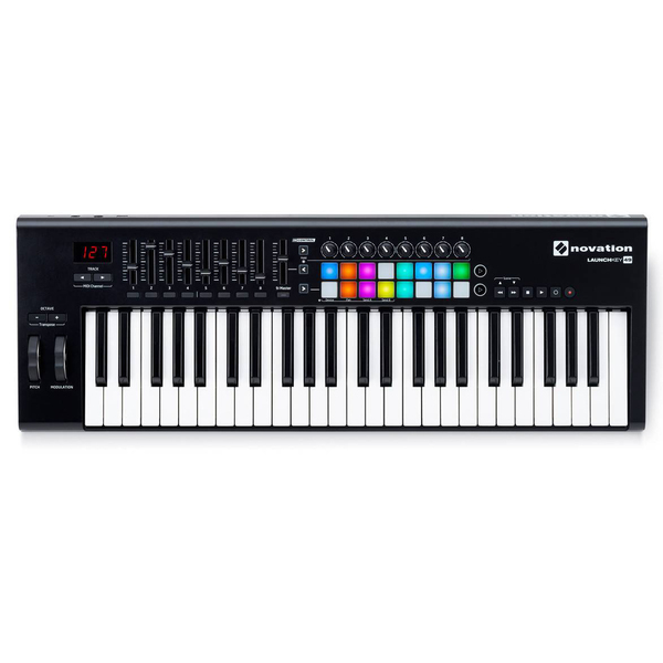 MIDI-клавиатура Novation Launchkey 49 MK2 novation launchkey 49 mk2